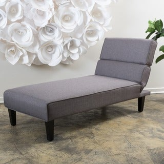 Christopher Knight Home Astrid Fabric Chaise Lounge