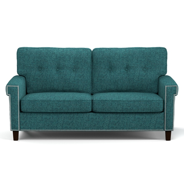 Better Living Jodi Sofa in Blue Tweed