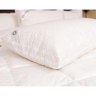 Downia White Goose Down Double Surround 330-thread Count Pillow