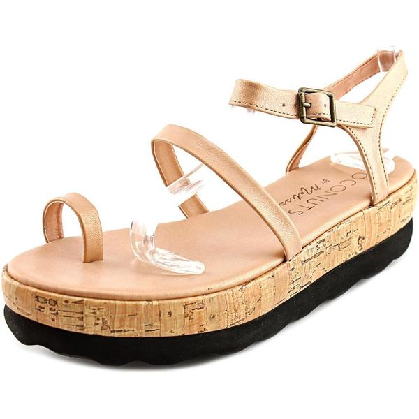Coconuts by Matisse Women's Strut Pink Faux-leather Sandals