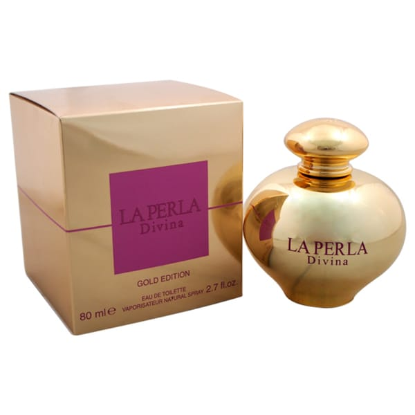 La Perla Divina Gold Edition La Perla Women's 2.7-ounce Eau de Toilette Spray
