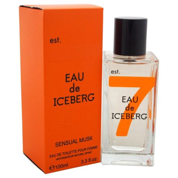 Iceberg Eau de Iceberg Sensual Musk Women's 3.3-ounce Eau de Toilette Spray