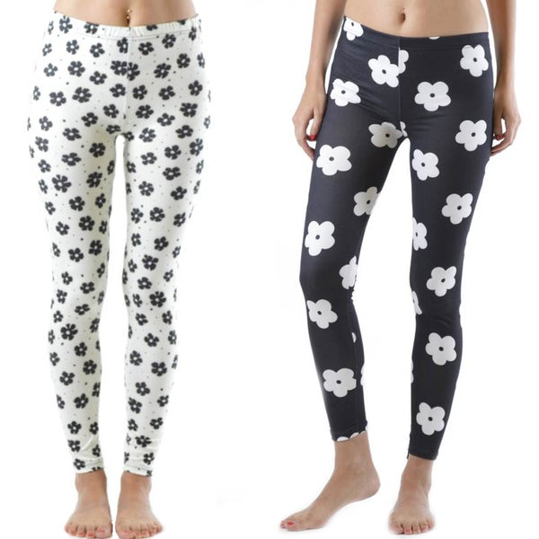2 Pack of Floral Print Leggings