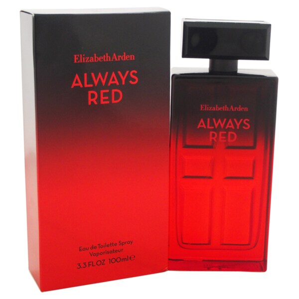 Elizabeth Arden Always Red Women's 3.3-ounce Eau de Toilette Spray