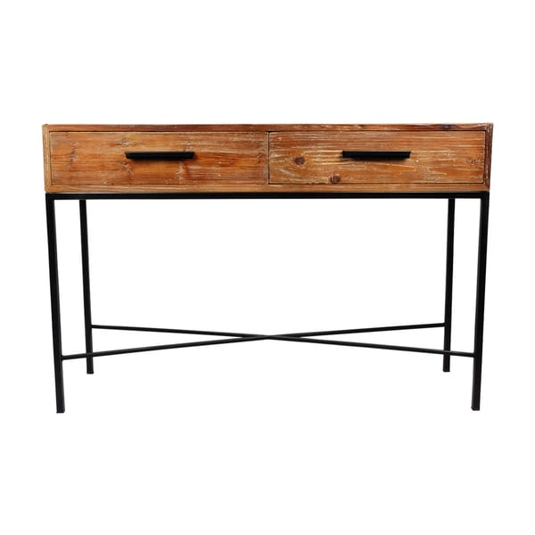 Rustic Reclaimed Wood Console Table 19167819