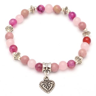 Healing Stones for You Attract Love Intention Bracelet