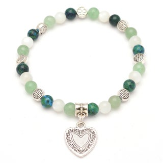 Healing Stones for You Overcome Heartache Intention Bracelet