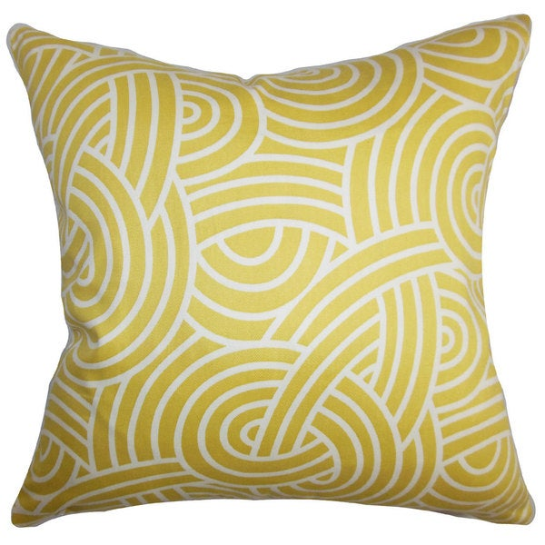 Wei Geometric Throw Pillow Cover