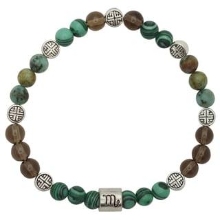 Healing Stones for You Scorpio Zodiac Bracelet
