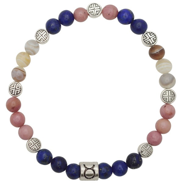 Healing Stones for You Taurus Zodiac Bracelet