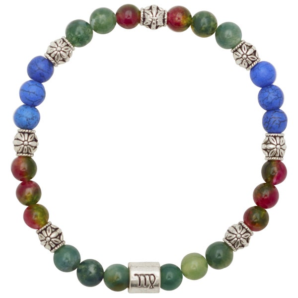 Healing Stones for You Virgo Zodiac Bracelet