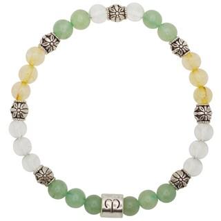 Healing Stones for You Aries Zodiac Bracelet