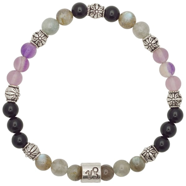 Healing Stones for You Capricorn Zodiac Bracelet