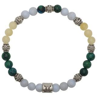 Healing Stones for You Gemini Zodiac Bracelet