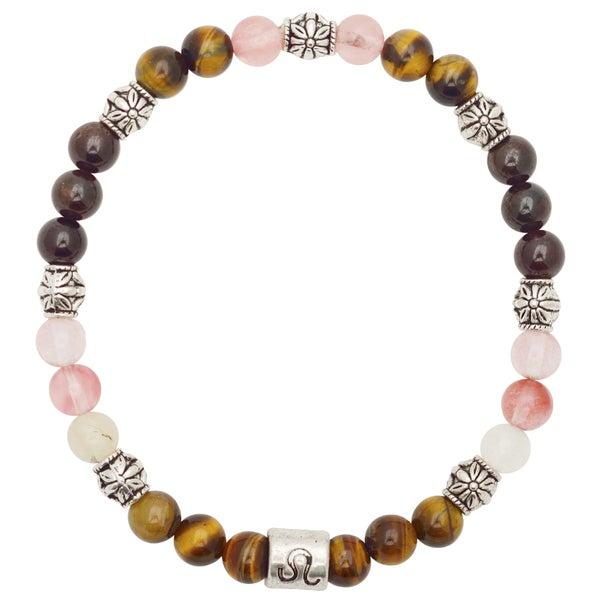 Healing Stones for You Leo Zodiac Bracelet