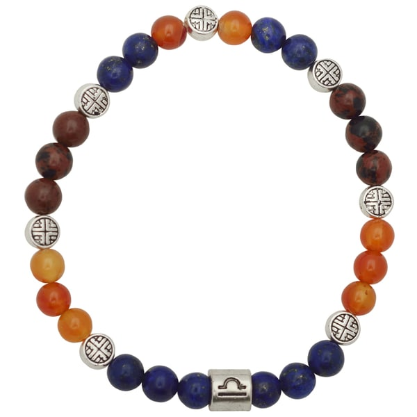 Healing Stones for You Libra Zodiac Bracelet