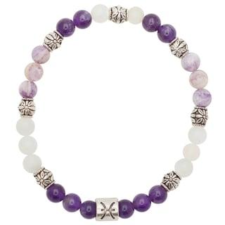 Healing Stones for You Pisces Zodiac Bracelet