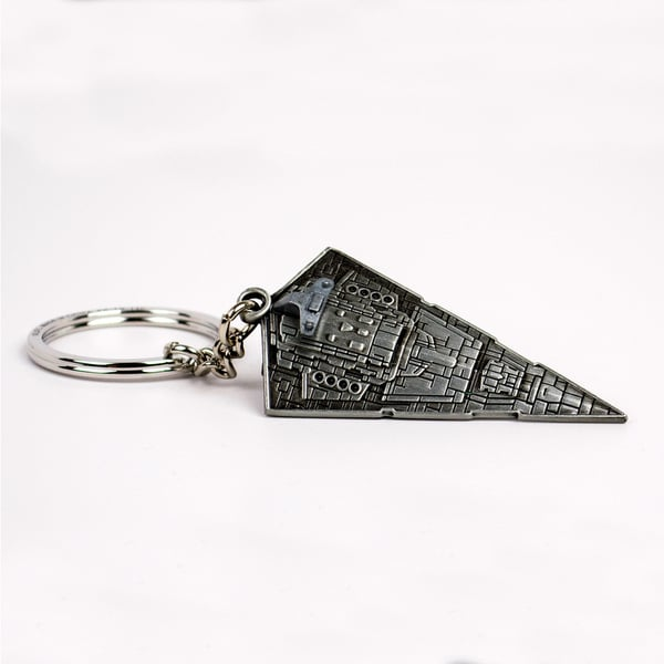 Quantum Mechanix Star Wars Star Destroyer Replica Zinc Alloy Key Chain