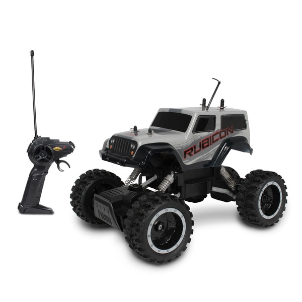 NKOK Mean Machines Rock Crawlers Remote Control RC Jeep Wrangler