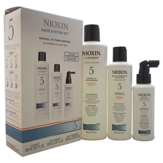 Nioxin System 5 Thinning Hair Kit for Medium/Coarse Normal Thin Hair