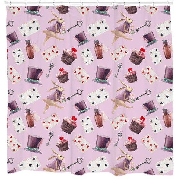 Sharp Shirter Alice in Wonderland Shower Curtain