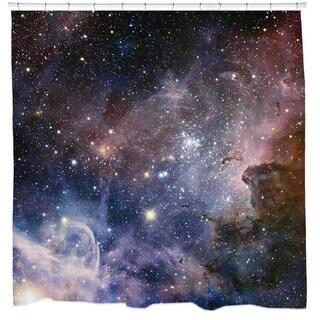 Sharp Shirter Carina Nebula Shower Curtain