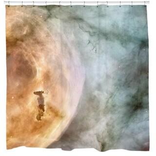 Sharp Shirter Carina Nebula: The Caterpillar Shower Curtain