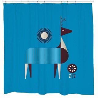 Sharp Shirter Ciervo Deer Shower Curtain