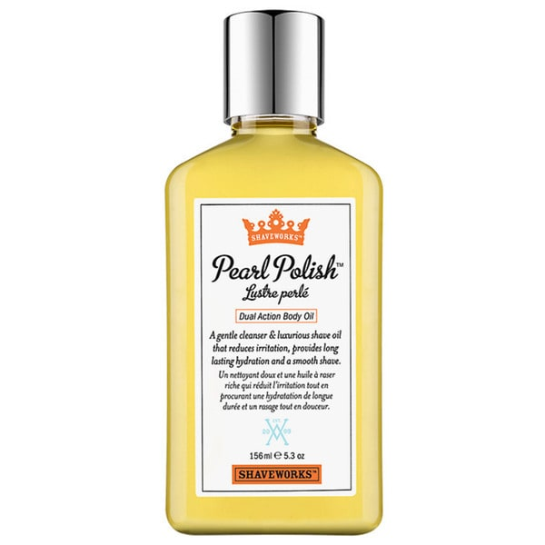 Shaveworks Pearl Polish Dual Action 5.3-ounce Body Oil
