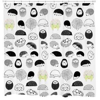 Sharp Shirter 20 Hedgehogs Shower Curtain