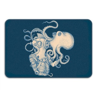 Sharp Shirter Deep Sea Discovery Memory Foam Bath Mat
