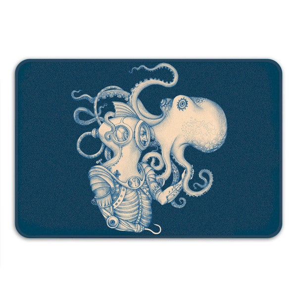 Sharp Shirter Deep Sea Discovery Memory Foam Bath Mat