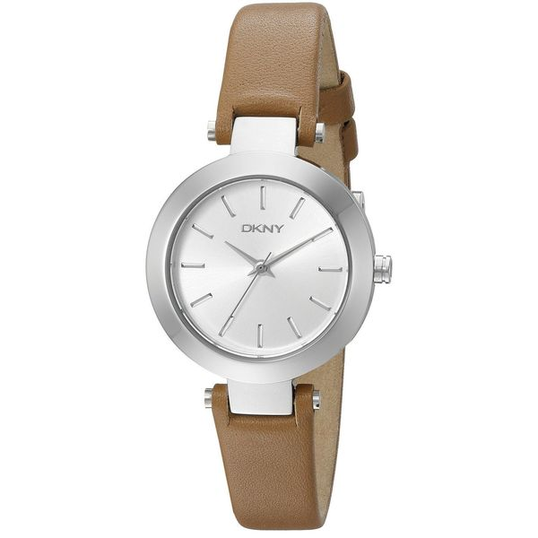 DKNY Women's NY2406 'Stanhope' Brown Leather Watch