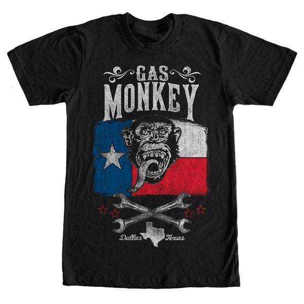 Gas Monkey Garage Lone Star Black T-shirt