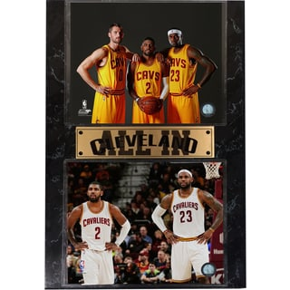 Cleveland Cavaliers 'All In' 13-inch x 20-inch Stat Plaque