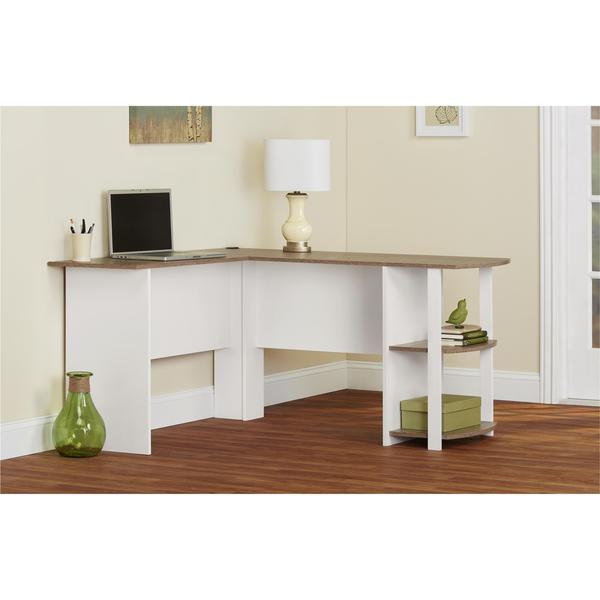 Altra Dakota L Shaped Desk With Bookshelves 18875616