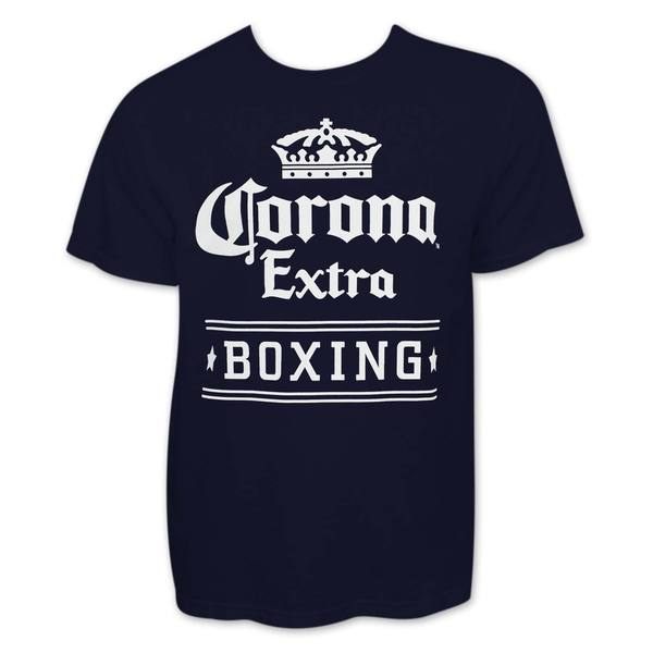 Men's Navy Blue Corona Boxing T-shirt