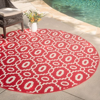Christopher Knight Home Roxanne Malina Indoor/Outdoor Rug (7' Square)