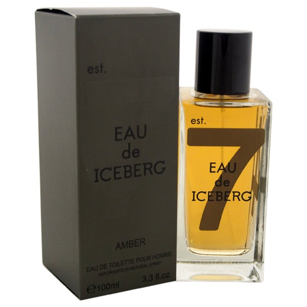 Amber Iceberg Eau de Iceberg Men's 3.3-ounce Eau de Toilette Spray