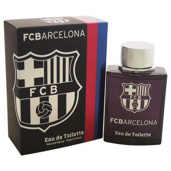 FC Barcelona Black Men's 3.4-ounce Eau de Toilette Spray