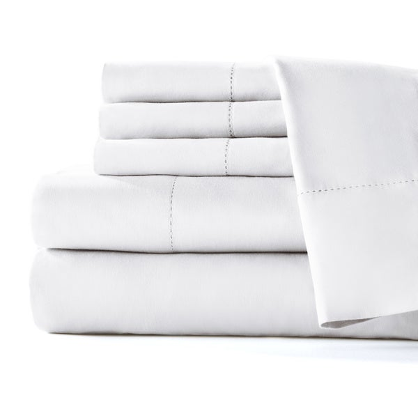 Home Fashion Designs Mira Collection 400-thread-count Cotton Sateen 6-piece Luxury Sheet Set