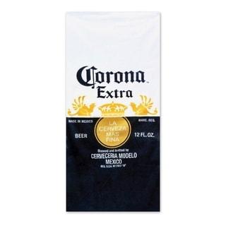 Corona Extra Beer Bottle Beach Towel