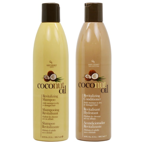 Hair Chemist 10-ounce Coconut Oil Shampoo and Conditioner Duo