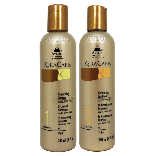 Avlon Keracare Color-treated Hair 8 oz. Moisturizing Shampoo and Conditioner Duo (Set of 2)