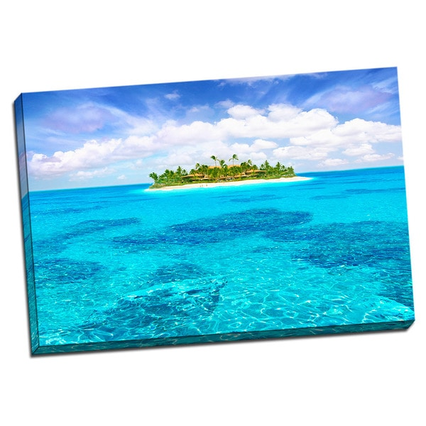 Tropical Places Collection Island Wall Decor