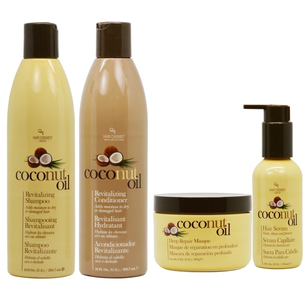 Hair Chemist Coconut Oil Set