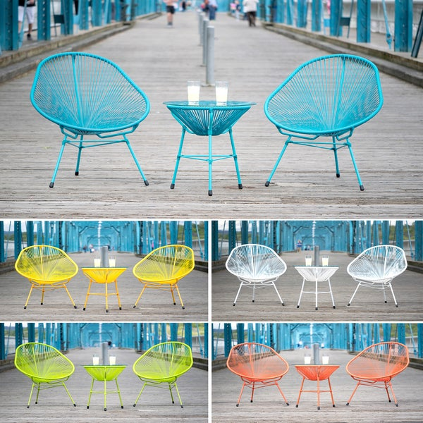 Decorative Modern Indoor/ Outdoor Bistro Dining Set