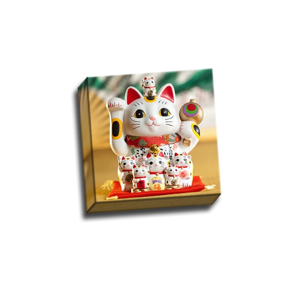 Good Luck Cs0808 Maneki Neko Wall Decor