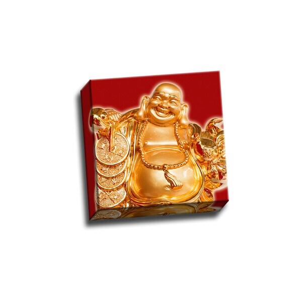 Good Luck Cs0808 Buddha Red Wall Decor