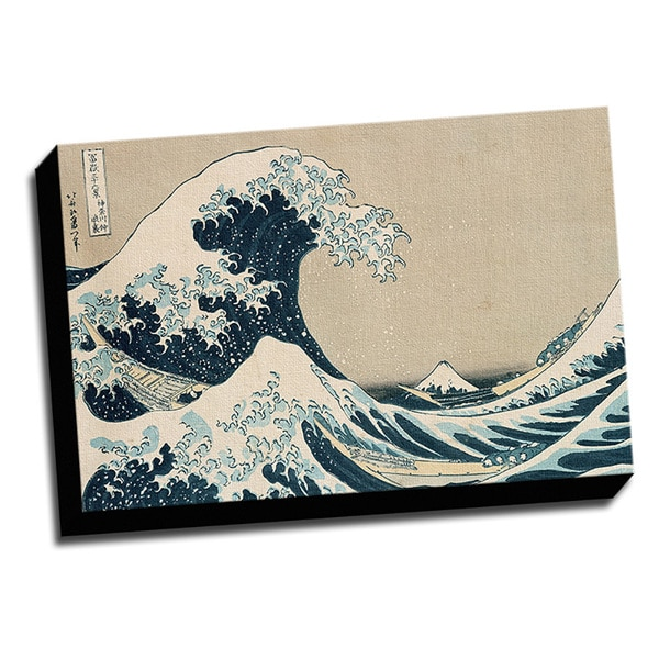Great Wave Fine Art Masterpiece Printed Canvas
